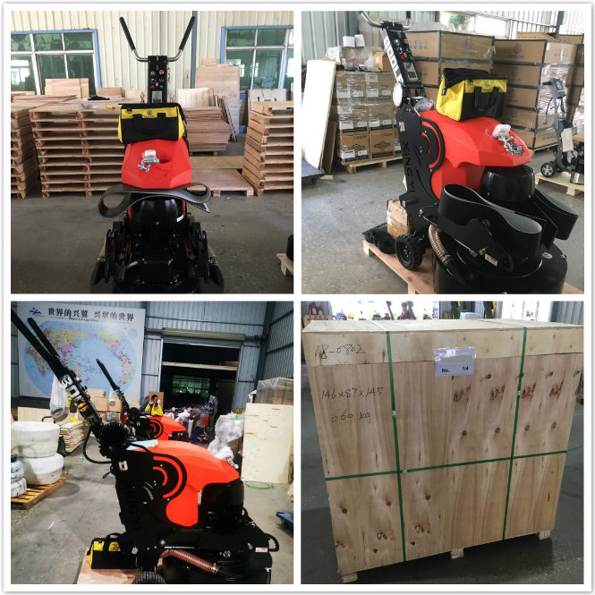 800LE High-powered floor polishing machine