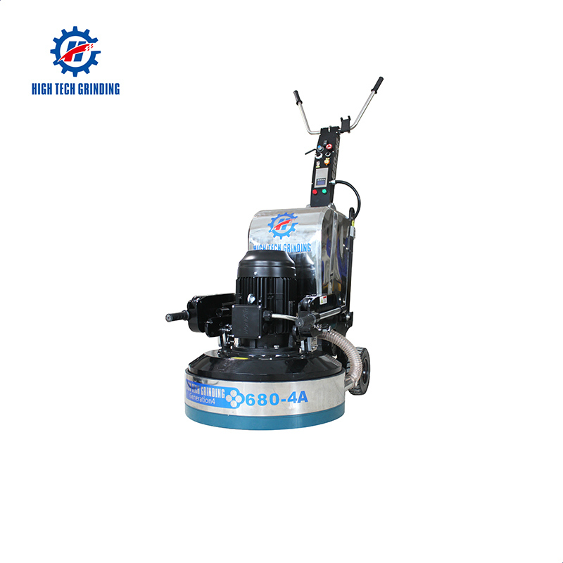HTG 680-4A concrete polisher and grinding machine