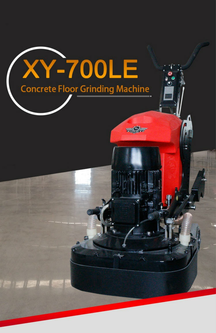 Efficient floor grinding machine system